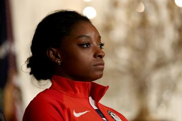 """Simone Biles On Why She Didn't Speak At Larry Trial: """"Too Much To Handle"""""""