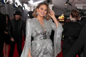 "Chrissy Teigen Actually Bowed Down To Beyonce In ""M'Lady"" Grammys Encounter"