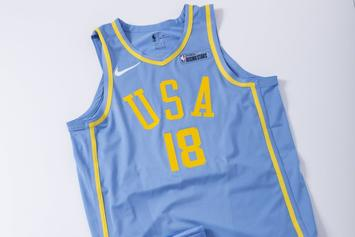 NBA Reveals Jerseys For Rising Stars Game