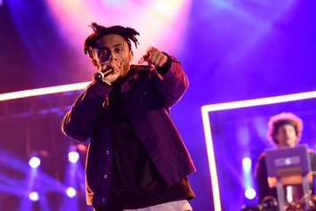Aminé Drops Cold Blooded Freestyle On LA Leakers