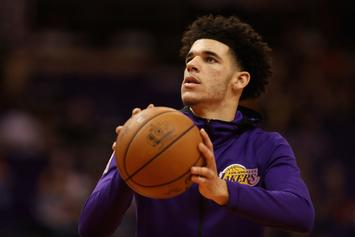 Lonzo Ball Is Going To Be A Dad
