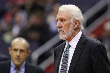 """Popovich Discussing Black History Month: """"We Live In A Racist Country"""""""
