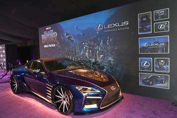 """Black Panther"" & Lexus Link Up For Exclusive LC 500 Model"