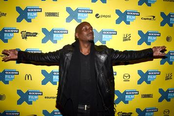 Tyrese Shoves Female Fan After She Jumps On Stage
