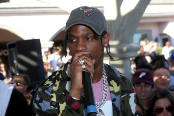 "Travis Scott Rents Out Movie Theatres For Kids To Watch ""Black Panther"""