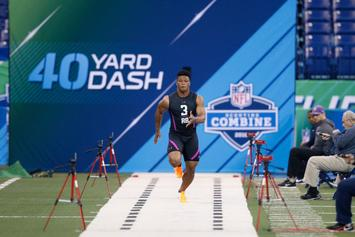 NFL Combine: Saquon Barkley Steals The Show