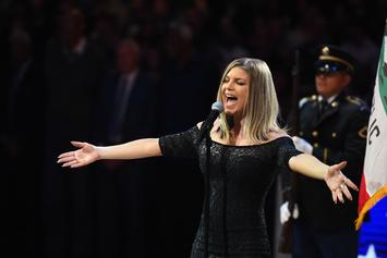 People Aren't Feeling Fergie's Rendition of The National Anthem