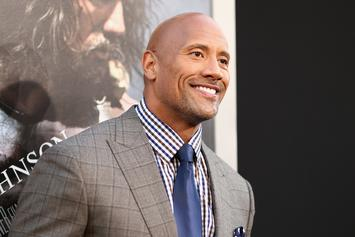 "Dwayne Johnson ""Humbly & Graciously"" Accepts His Razzie Award"