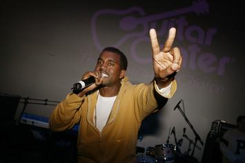 """Listen To This Unreleased Kanye West Track That He Recorded Before """"College Dropout"""""""