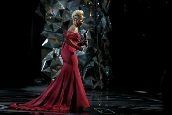 """Mary J. Blige's Oscar Performance Of """"Mighty River"""" Drives Streaming Traffic"""
