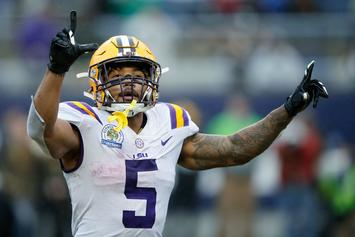 """Derrius Guice Says NFL Team Asked If He """"Likes Men"""" At Combine"""