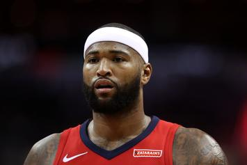 Is This The Moment When DeMarcus Cousins Found Out He Had Been Traded?