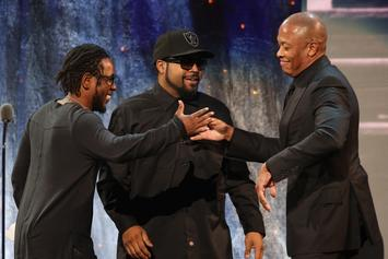 Watch Kendrick Lamar Induct N.W.A. Into The Rock & Roll Hall Of Fame
