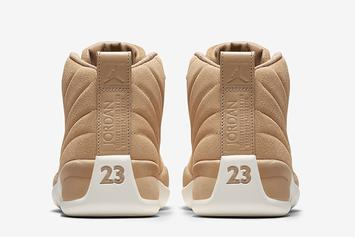 "Air Jordan 12 ""Vachetta Tan"" Gets Release Date"
