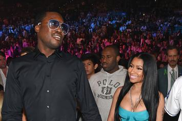Meek Mill & Nicki Minaj Aren't Actually Engaged