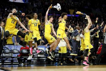 Michigan Basketball Trolls ESPN After Dominant Sweet 16 Performance