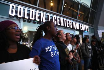 Stephon Clark Shooting Sparks Protests At Sacramento Kings Game