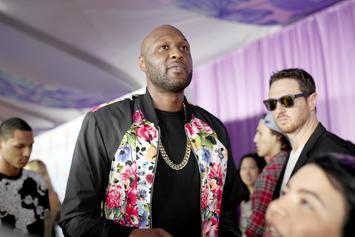 Lamar Odom Reportedly On Good Terms With Kardashian Sisters