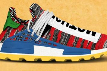 "Pharrell x Adidas NMD Hu ""Afro Pack"" Release Date Announced"