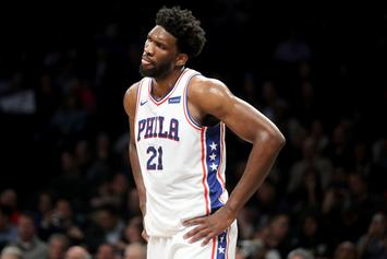 "Joel Embiid Posts Update From Hospital: ""Not Good"""