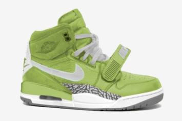 "Don C x Jordan Legacy 312 To Release In ""Ghost Green"" Colorway"