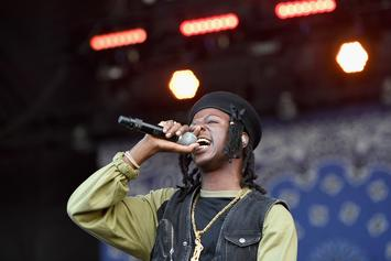 Joey Bada$$ Keeps His Lyrics And His Nails Well Manicured