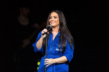 "Demi Lovato Shares Cellulite, No Thigh-Gap Photos: ""Let's Embrace Our Real Selves"""