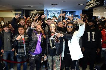 Migos Tour Bus Raided Over 420 Grams Of Marijuana, Codeine & Xanax