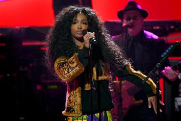 SZA Shows Off Brand New Afro Hairstyle