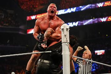 Brock Lesnar Resigns With WWE, Steel Cage Match Announced