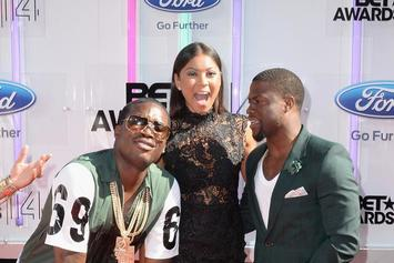 Kevin Hart Speaks With Meek Mill In Prison; Says He's In A Good Mental Space