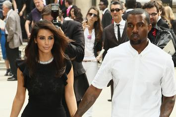 First Photo Of Kanye West & Kim Kardashian's Baby North West Revealed