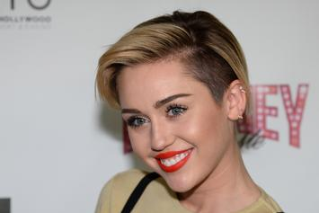 """Miley Cyrus Reportedly Recorded A """"Black Skinhead"""" Remix With Kanye West [Update: Confirmed By Mike WiLL]"""