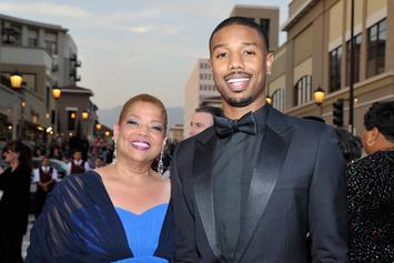 "Michael B. Jordan's Mom Encouraged Him To Be The ""Leading Man"" In Movies"