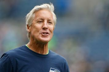 Seahawks Coach Pete Carroll Trolls Kanye West Over Yeezy 500s