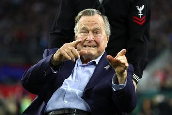 George H.W. Bush Hospitalized With Blood Infection