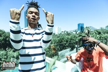 "BTS Photos: Rae Sremmurd, Nicki Minaj & Young Thug's ""Throw Sum Mo"" Video Shoot"
