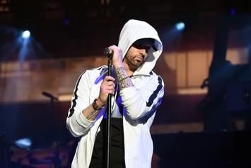"Eminem Is Back In The Studio With His ""Talented Friend Jessie"""