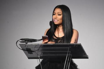"Nicki Minaj Announces ""The PinkPrint"" Tour Movie Airing New Year's Eve On BET"