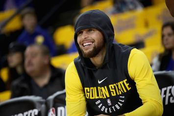 Steph Curry Now Listed As Questionable For Game 1 Vs. Pelicans