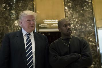 "Donald Trump Claims Kanye West ""Performed Great Service To Black Community"""