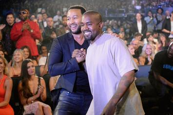 "John Legend Says Kanye West ""Sees Certain Aspects Of Himself In Trump"""