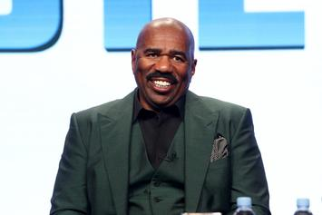 """Steve Harvey's """"Sponsor-Driven"""" Personality Is Why He Won't Return To Standup"""