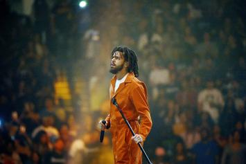 """J. Cole's """"ATM"""" Expected To Make Top Ten Debut On Hot 100"""