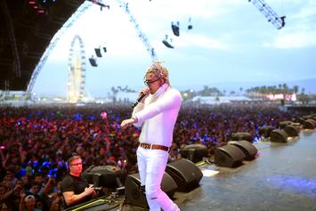 Lil Pump Stage Dives From Ledge During Wild Concert In Canada