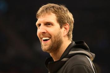 Dirk Nowitzki Reveals Hilarious Text Messages With His Trainer