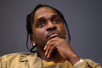 "Pusha T Is Aiming for ""Hip Hop Album Of The Year"" Once Again With ""King Push"""