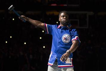 Kevin Hart's Private Jet Blows Tire, Thanks Angels For Surviving The Incident