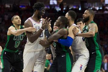"""Joel Embiid On Scuffle With Terry Rozier: """"Too Bad He's So Short"""""""