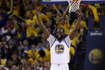 """Warriors' Draymond Green To Rockets: """"It's Time To Play"""""""